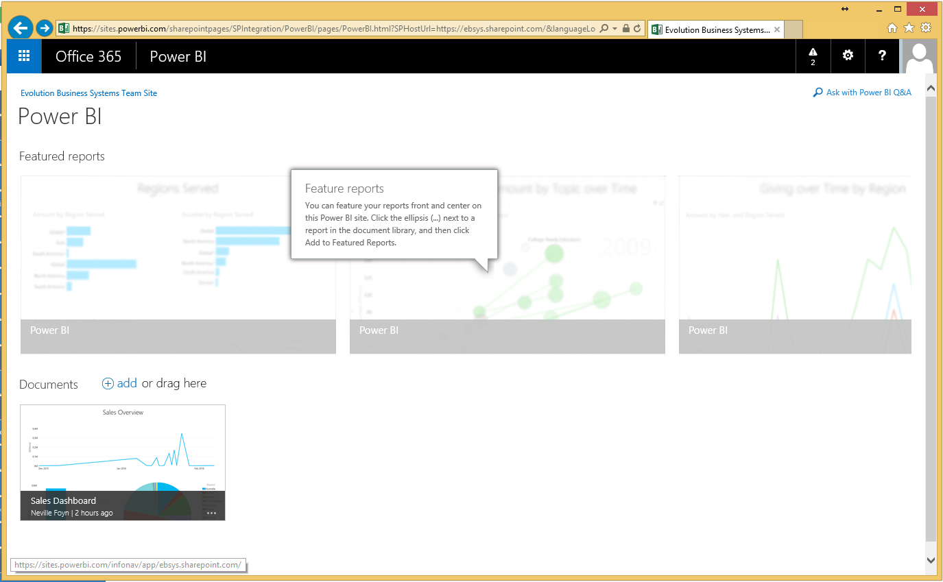 Power BI and Office 365 in Microsoft Dynamics NAV 2015 im13