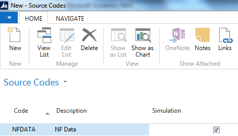 Microsoft Dynamics NAV Capturing data image2